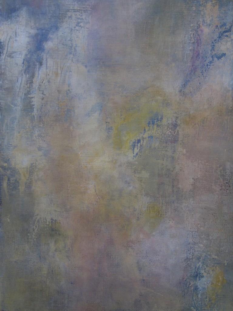 """""""Spuren"""" II,  Acryl auf Leinen, 2012, 100x70cm"""